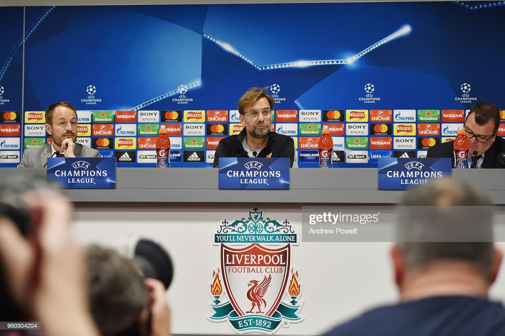 Liverpool Press Conference : News Photo