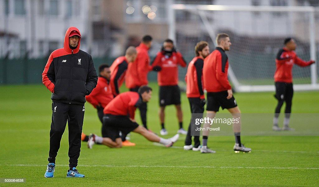 Liverpool Training Session : News Photo