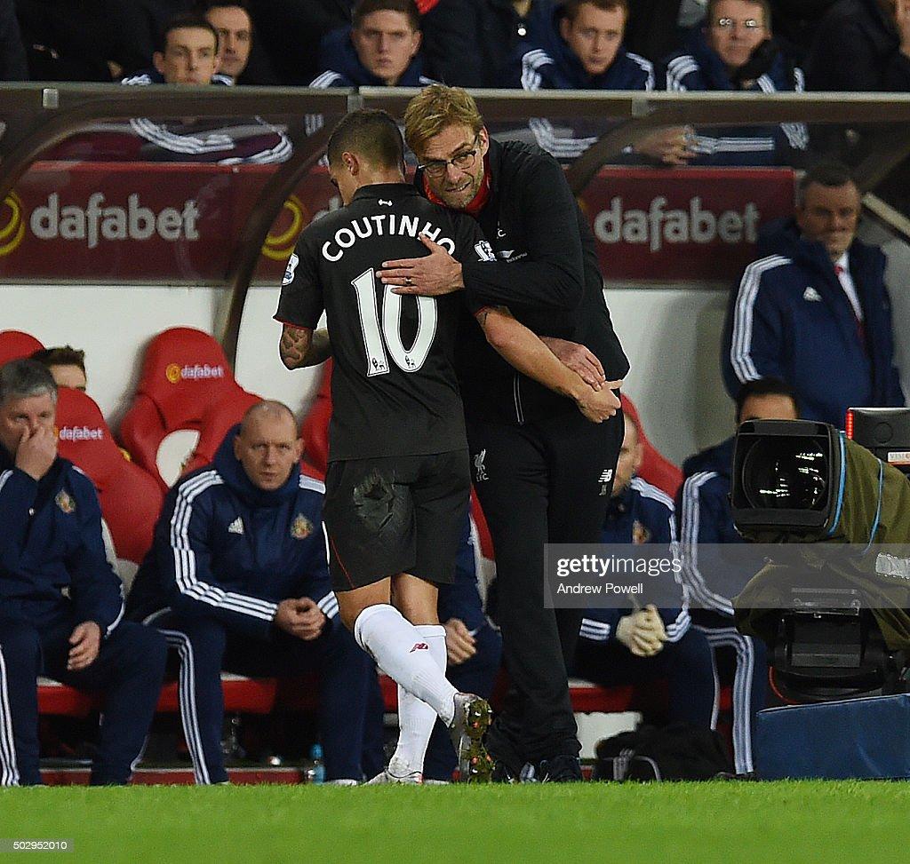 Sunderland v Liverpool - Premier League : Nachrichtenfoto