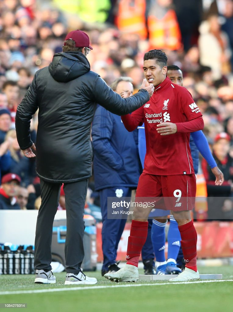 Liverpool FC v Cardiff City - Premier League : News Photo