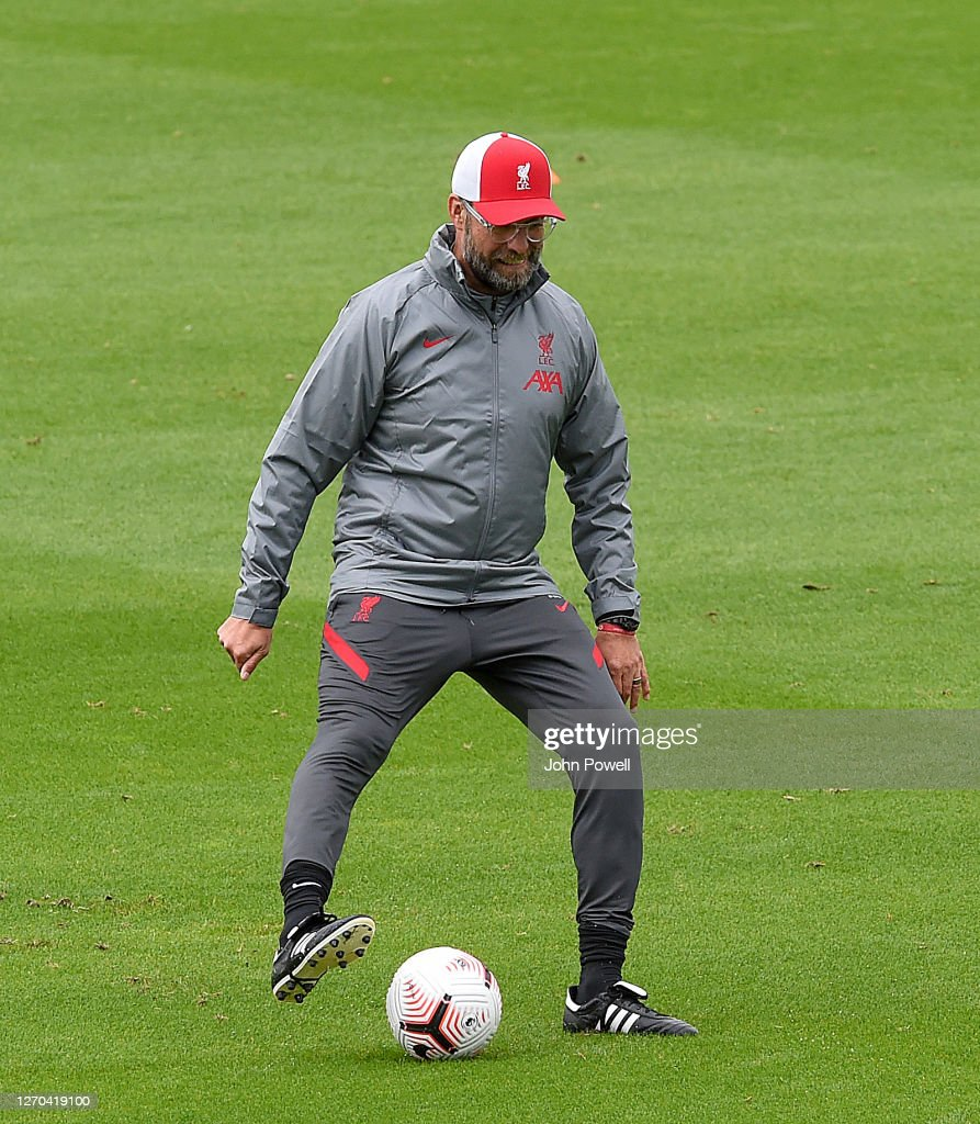 Liverpool Training Session : Nachrichtenfoto