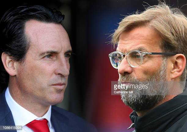 COMPOSITE OF IMAGES Image numbers 1046987928940547396 GRADIENT ADDED In this composite image a comparison has been made between Unai Emery Manager of...