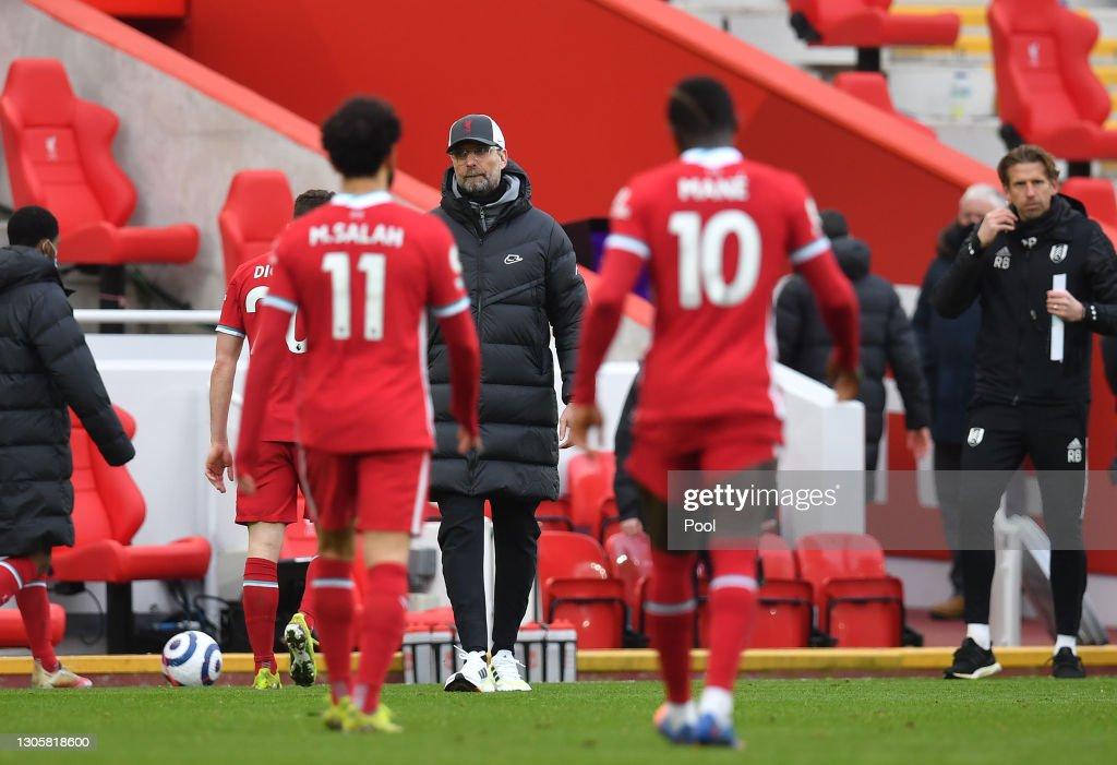 Liverpool v Fulham - Premier League : ニュース写真