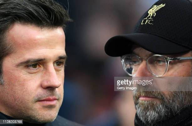 COMPOSITE OF IMAGES Image numbers 10734908701072868284 GRADIENT ADDED In this composite image a comparison has been made between Marco Silva Manager...