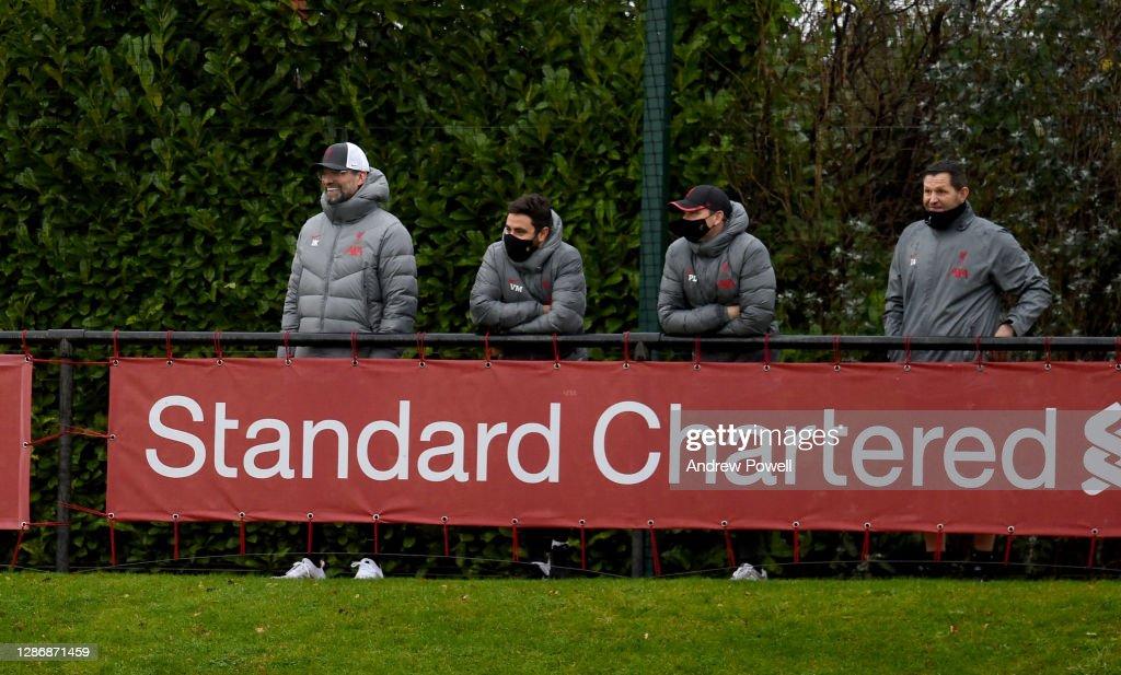 Liverpool U23 v Southampton U23: Premier League 2 : Nachrichtenfoto