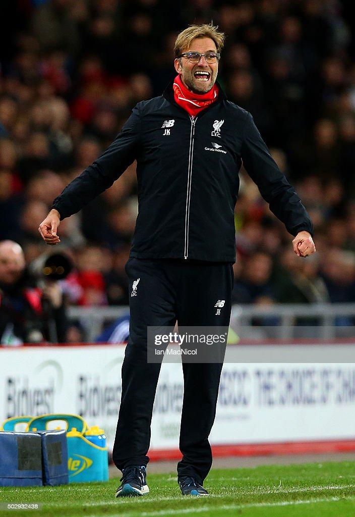 Sunderland v Liverpool - Premier League : News Photo