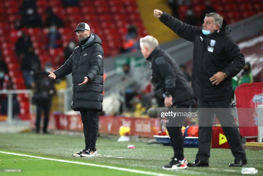Liverpool v West Bromwich Albion - Premier League : ニュース写真