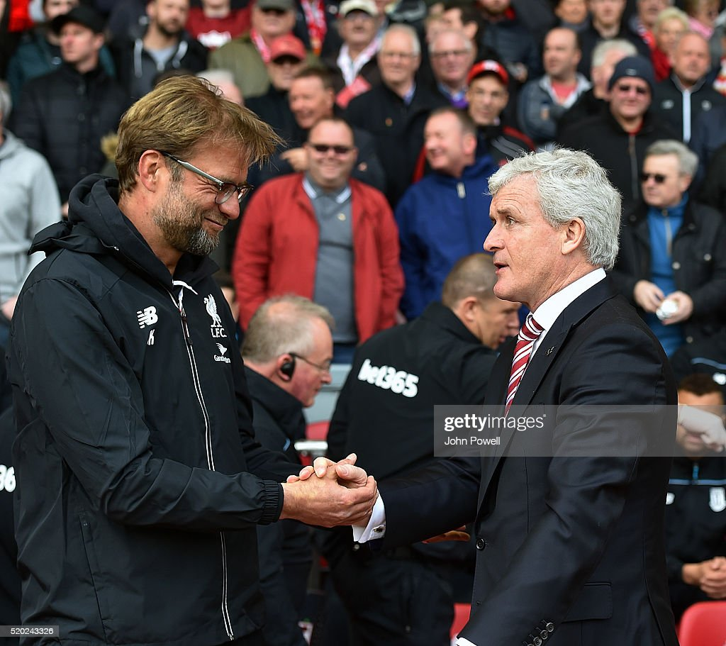 Liverpool v Stoke City - Premier League