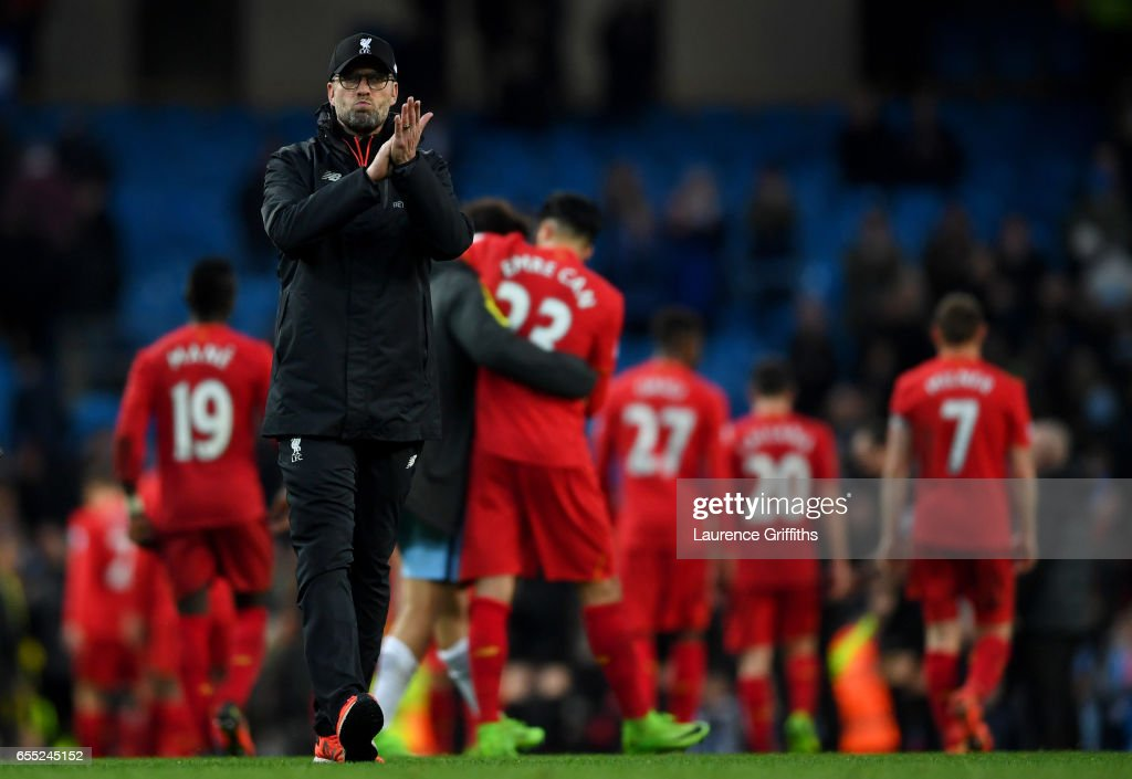 Manchester City v Liverpool - Premier League : Nachrichtenfoto