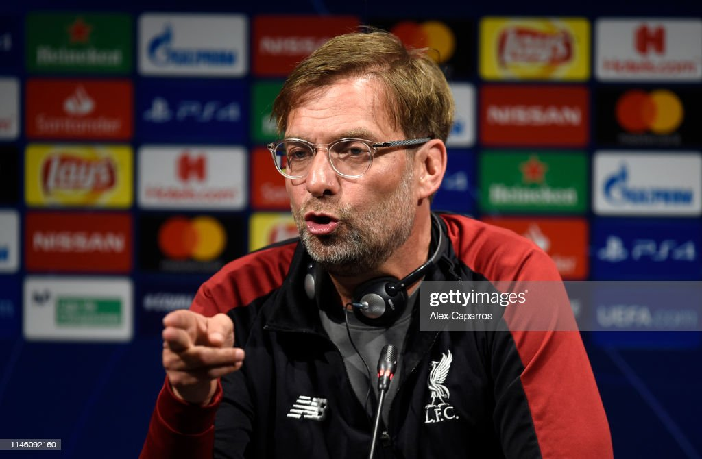 Liverpool Press Conference : News Photo
