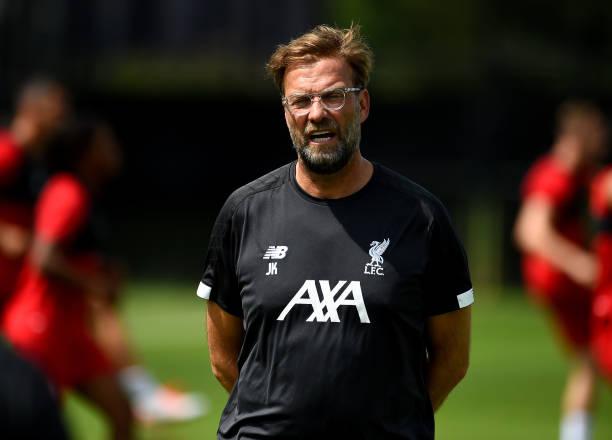IN: Liverpool Pre-Season Training Session