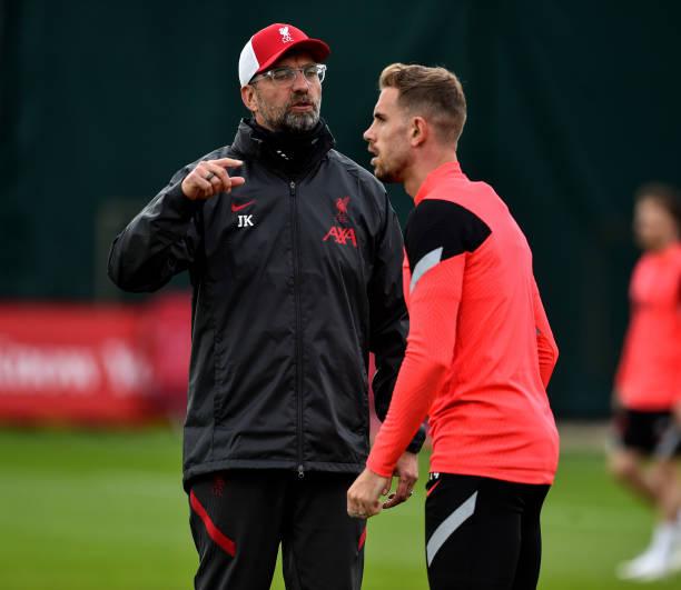 GBR: Liverpool FC Training Session