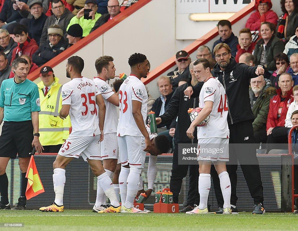 A.F.C. Bournemouth v Liverpool - Premier League : News Photo