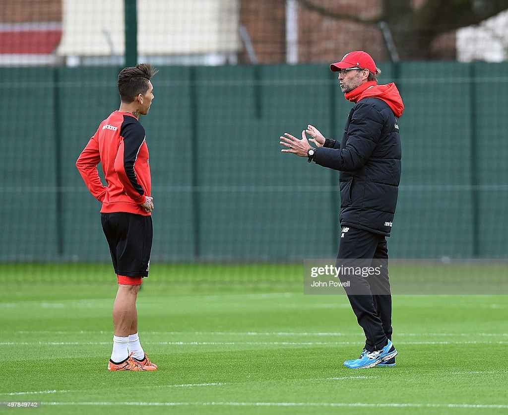 Liverpool FC Training & Press Conference : ニュース写真