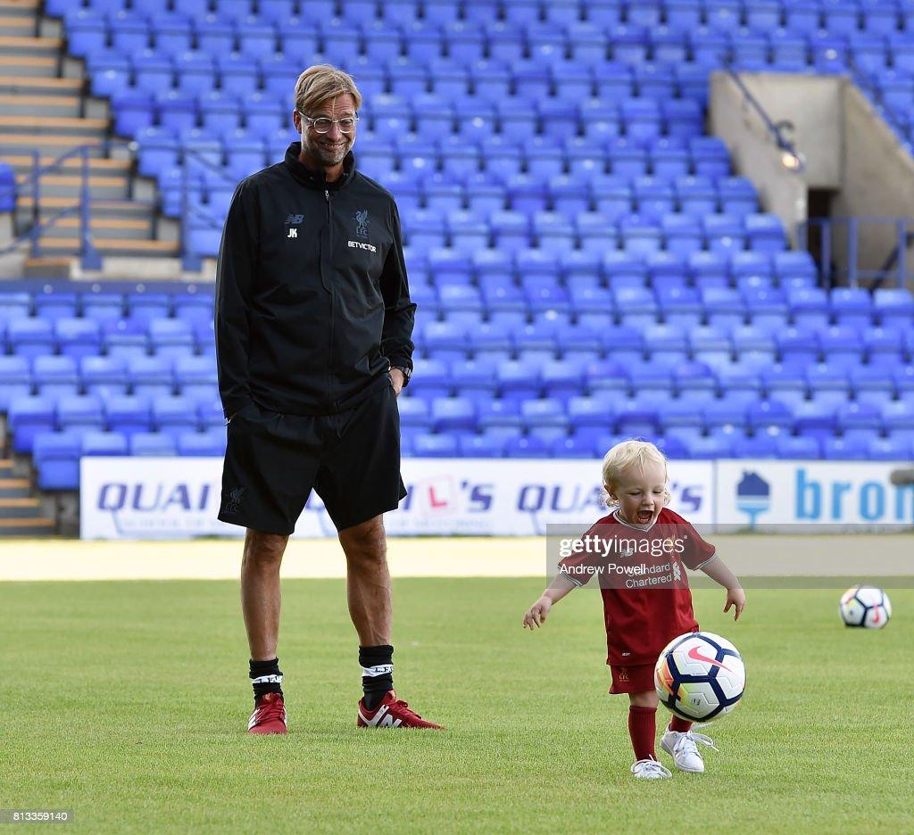 Tranmere Rovers v Liverpool - Pre Season Friendly : ニュース写真