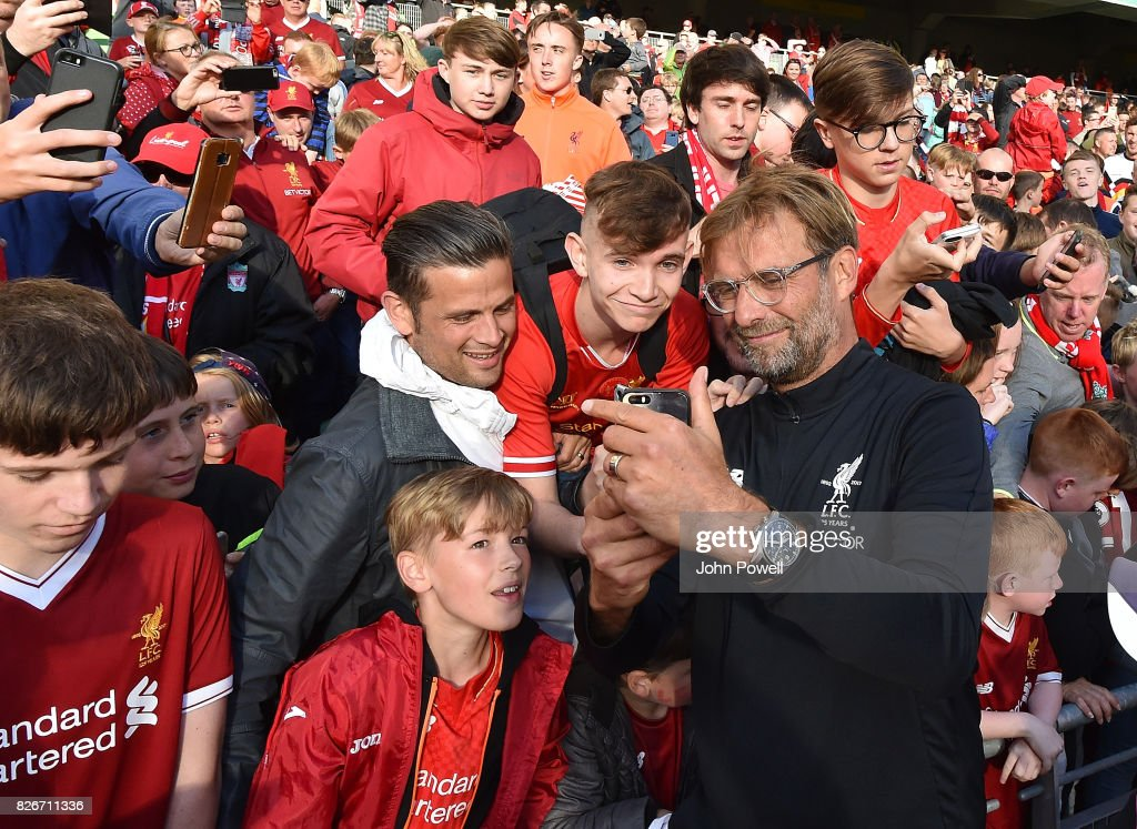 Liverpool v Athletic Bilbao - Pre Season Friendly : ニュース写真