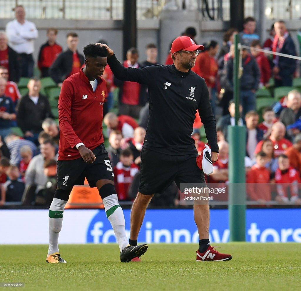 Liverpool v Athletic Bilbao - Pre Season Friendly : News Photo