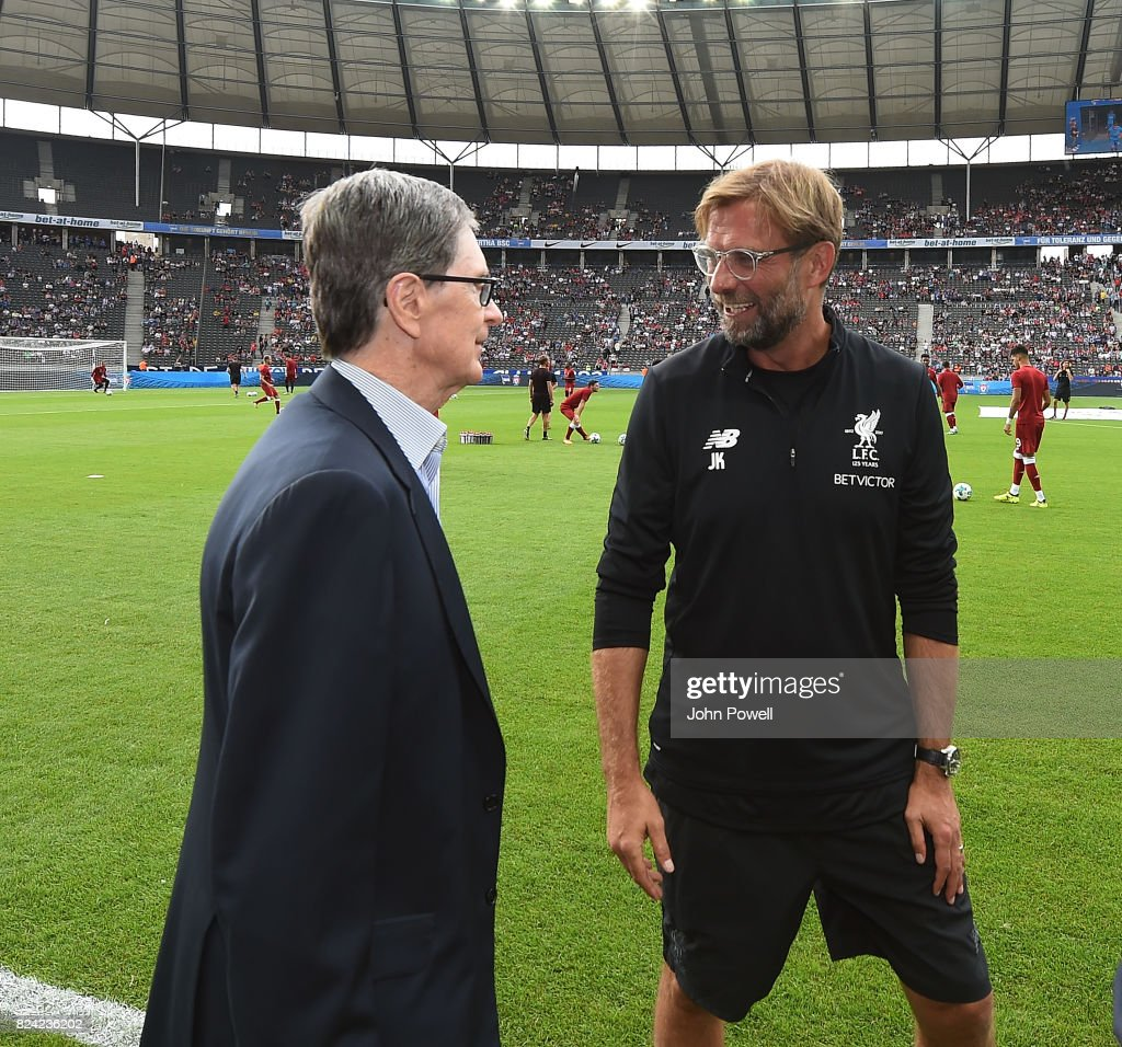 Hertha BSC v FC Liverpool - Preseason Friendly : News Photo