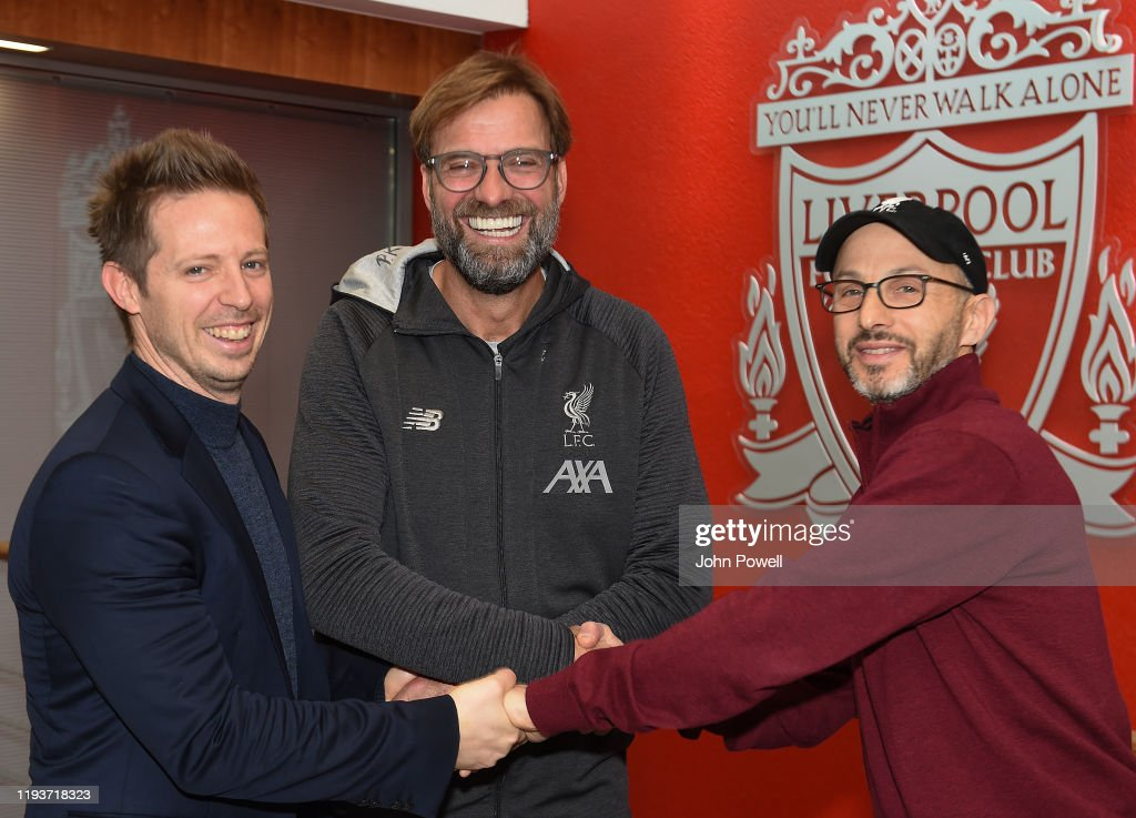Jurgen Klopp Signs A Contract Extension at Liverpool (THE SUN OUT, THE SUN ON SUNDAY OUT) : News Photo