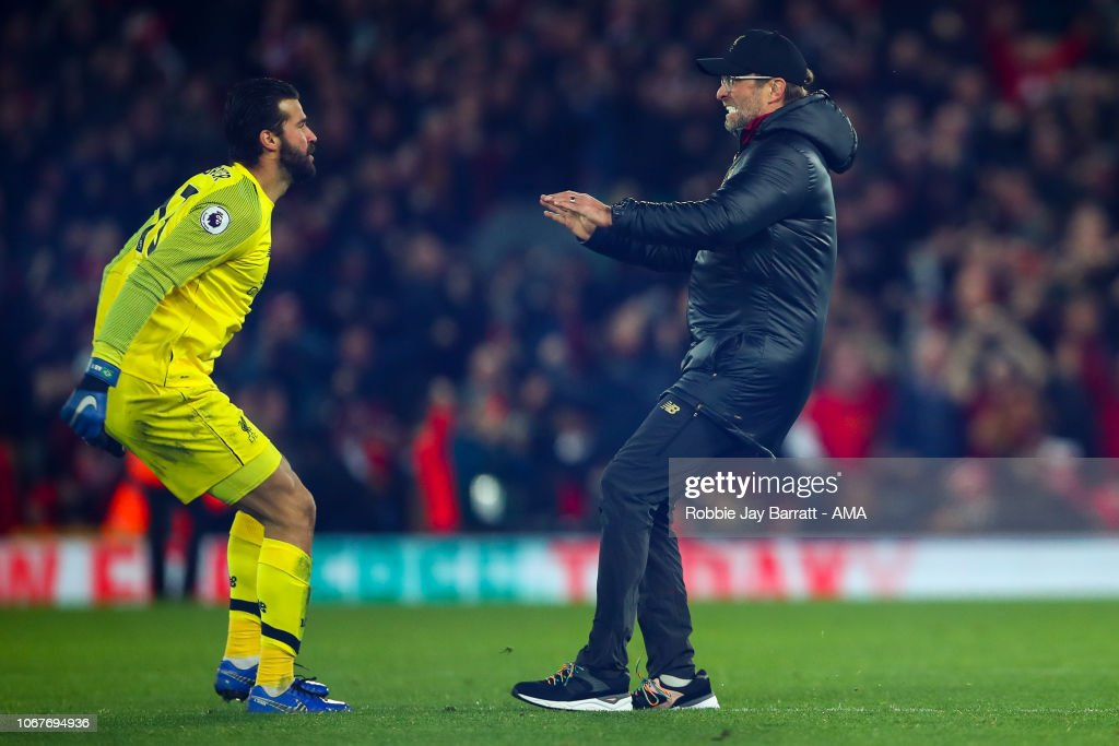 Liverpool FC v Everton FC - Premier League : News Photo