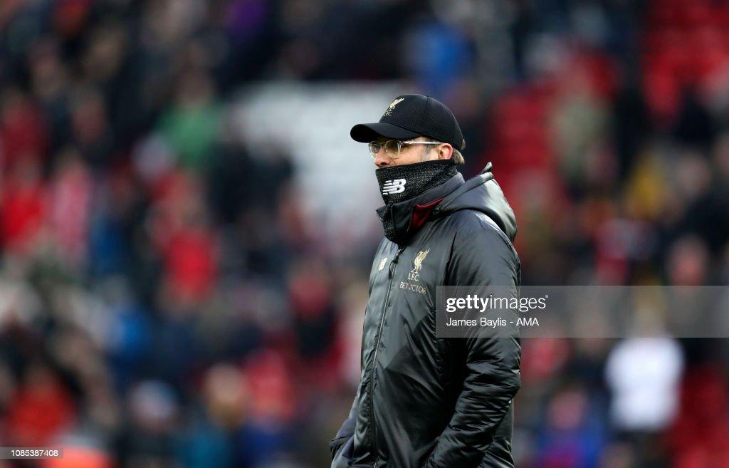 Liverpool FC v Crystal Palace - Premier League : News Photo