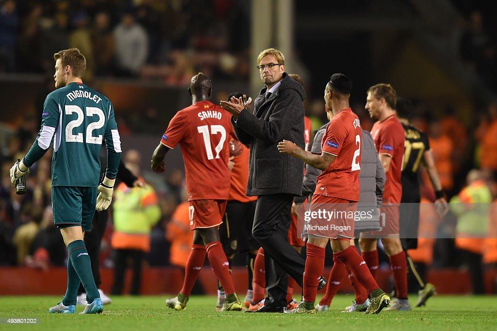 Liverpool FC v FC Rubin Kazan - UEFA Europa League : News Photo