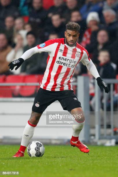 Jurgen Locadia of PSV during the Dutch Eredivisie match between PSV v Sparta at the Philips Stadium on December 3 2017 in Eindhoven Netherlands