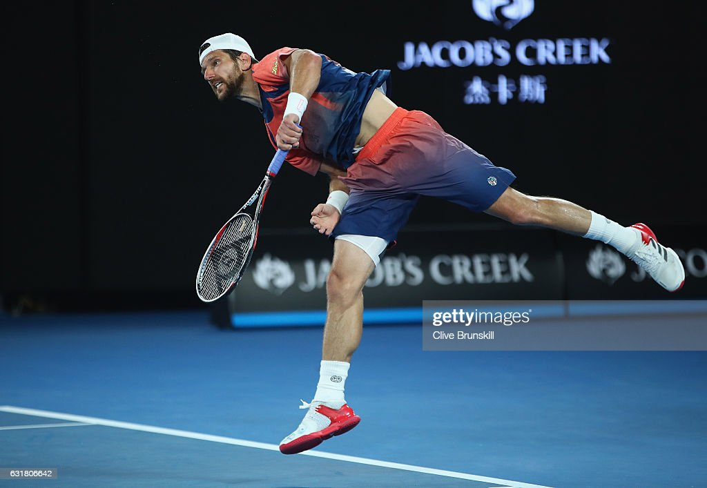2017 Australian Open - Day 1 : ニュース写真