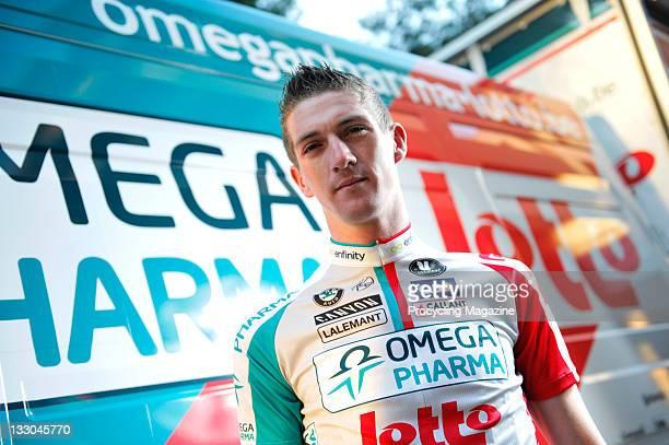 Jurgen Van Den Broeck, professional road race cyclist and member of the Omega Pharma-Lotto team, Palma, January 15, 2011.