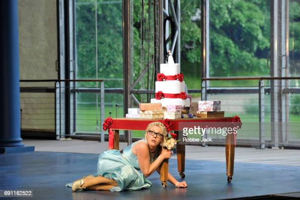Jurgita Adamonyte as Ino in Garsington Opera's production of Georg Frideric Handel's Semele directed by Annilese Misklimmon and conducted by Jonathan...