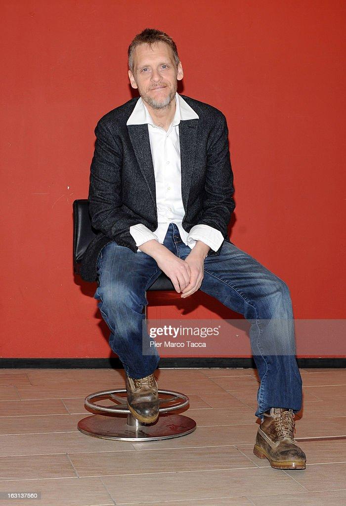 Juri Ferrini attends a 'Ci vuole un gran fisico' photocall on March 5, 2013 in Milan, Italy.