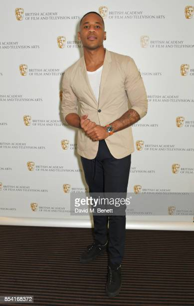 Jurist Reggie Yates attends the BAFTA Breakthrough Brits jury announcement at BAFTA Piccadilly on September 26 2017 in London England