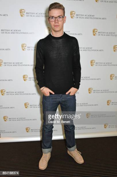 Jurist Will Poulter attends the BAFTA Breakthrough Brits jury announcement at BAFTA Piccadilly on September 26 2017 in London England