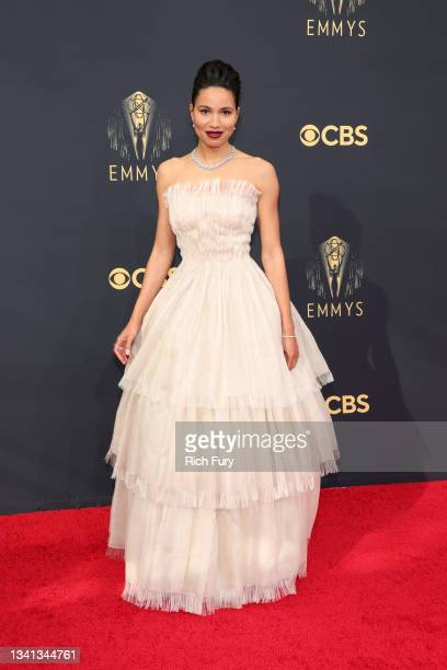 Jurnee Smollett attends the 73rd Primetime Emmy Awards at L.A. LIVE on September 19, 2021 in Los Angeles, California.