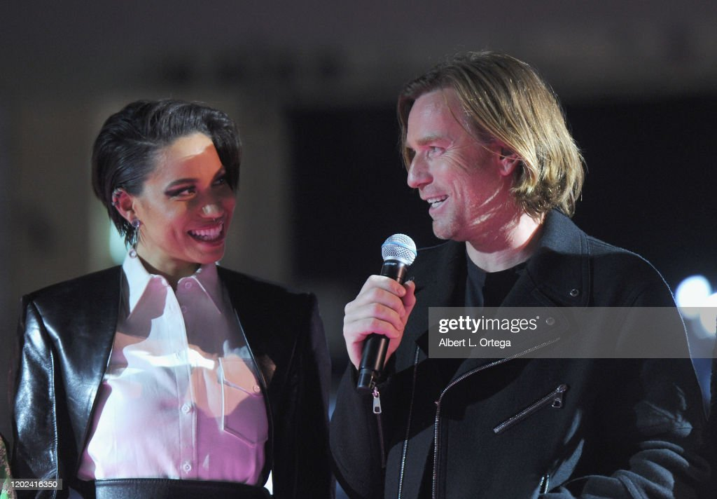 Jurnee Smollett Bell And Ewan Mcgregor Attend A Night Of Music And News Photo Getty Images