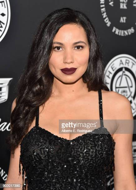 Jurnee SmollettBell attends The Art Of Elysium's 11th Annual Celebration on January 6 2018 in Santa Monica California