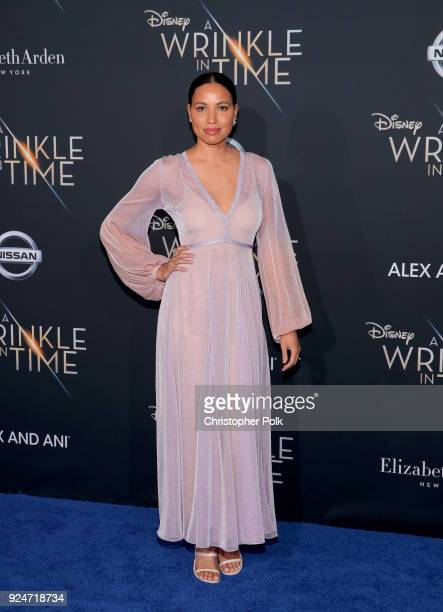 Jurnee SmollettBell attends the premiere of Disney's A Wrinkle In Time at the El Capitan Theatre on February 26 2018 in Los Angeles California