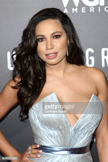 Jurnee SmollettBell attends the premiere of WGN America's 'Underground' Season 2 held at the Westwood Village on February 28 2017 in Los Angeles...