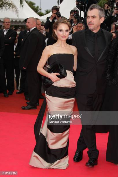 Juror actress Natalie Portman arrives at the Palme d'Or Closing Ceremony at the Palais des Festivals during the 61st International Cannes Film...
