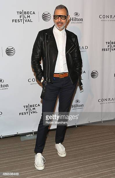 Juror Jeff Goldblum attends the TFF Awards Night during the 2014 Tribeca Film Festival at Conrad New York on April 24 2014 in New York City