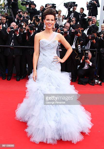 Juror Kate Beckinsale attends the Opening Night Premiere of 'Robin Hood' at the Palais des Festivals during the 63rd Annual International Cannes Film...