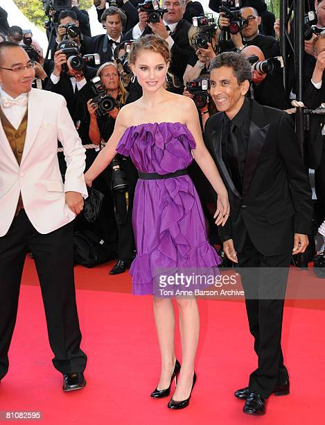"""Juror Natalie Portman arrives at the """"Blindness"""" premiere during the 61st Cannes International Film Festival on May 14, 2008 in Cannes, France."""