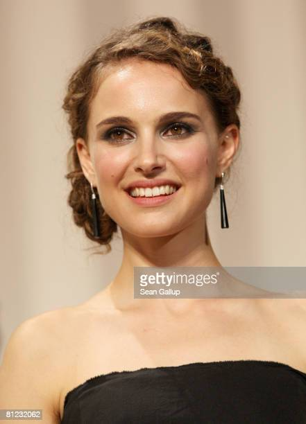 Juror Natalie Portman during the Palme d'Or Closing Ceremony at the Palais des Festivals during the 61st International Cannes Film Festival on May 25...