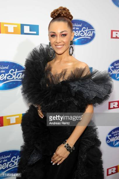 Juror Oana Nechiti attends the season 16 finals of the tv competition show Deutschland sucht den Superstar at Coloneum on April 27 2019 in Cologne...