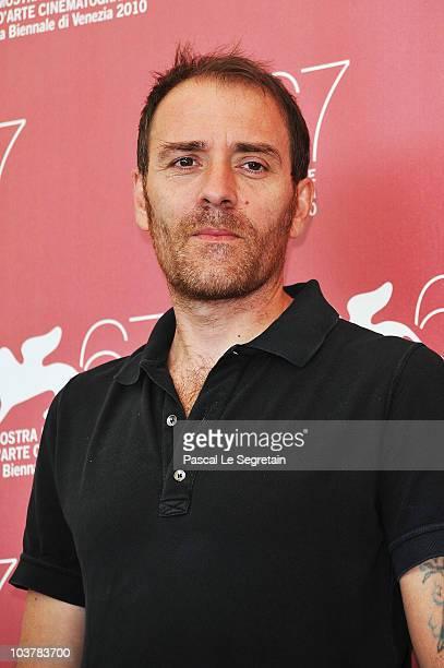 Juror Valerio Mastandrea attends the Jury Contracampo Italiano photocall during the 67th Venice Film Festival at the Palazzo del Casino on September...