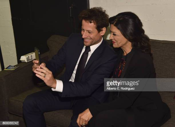 Juror/actors Ioan Gruffudd and Shohreh Aghdashloo attend the BAFTA Student Film Awards at The Ace Hotel Theater on June 22 2017 in Los Angeles...