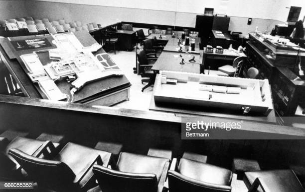 Jurors at the trial for Sirhan Sirhan on charges that he shot and killed Senator Robert F Kennedy last year will have in front of them a scale model...
