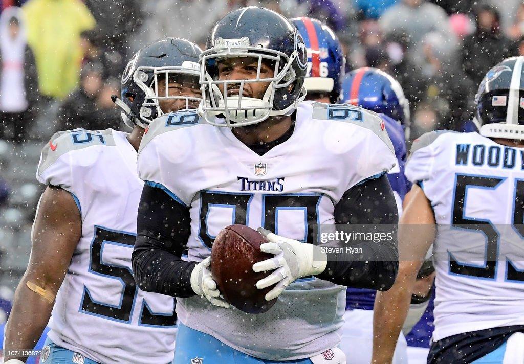 Tennessee Titans v New York Giants : News Photo
