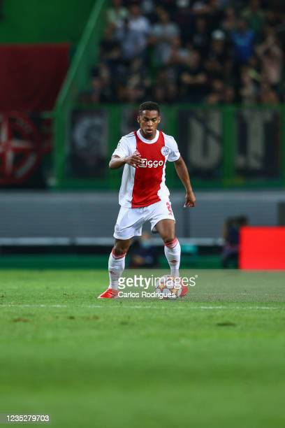 Jurrien Timber of AFC Ajax during the UEFA Champions League group C match between Sporting CP and AFC Ajax at Estadio Jose Alvalade on September 15,...