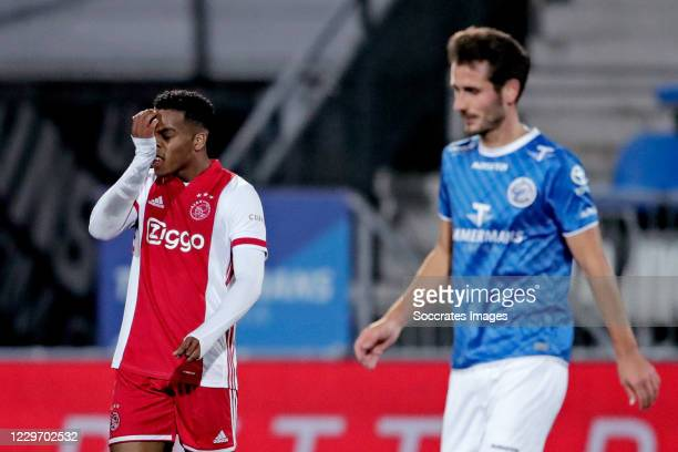 Jurrien Timber of Ajax U23 during the Dutch Keuken Kampioen Divisie match between FC Den Bosch v Ajax U23 at the Stadium De Vliert on November 20,...